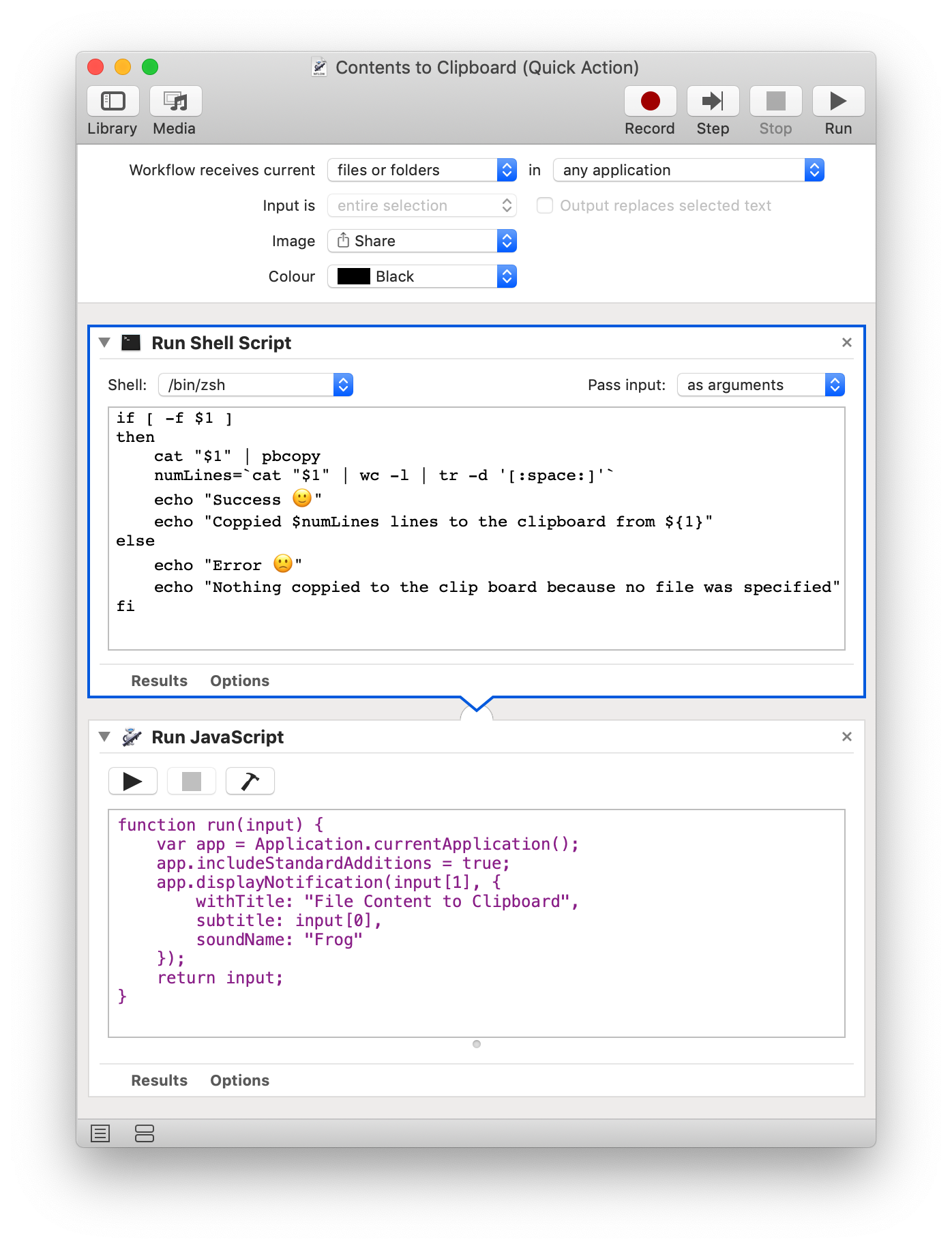 Right-click to Copy File Contents to Clipboard on macOS with